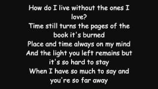 Video Avenged Sevenfold - So Far Away LYRICS MP3, 3GP, MP4, WEBM, AVI, FLV Agustus 2018