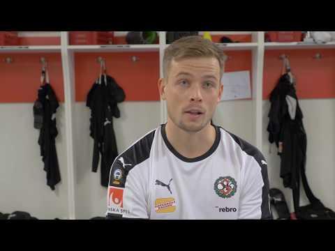 Daniel Björkman klar för den svartvita tröjan