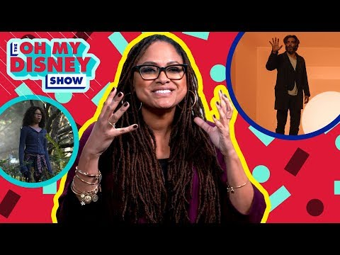 Ava DuVernay on the Set of A Wrinkle in Time   Oh My Disney Show by Oh My Disney