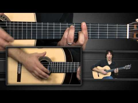 Flamenca - Marcelo teaches the eight basic right hand moves for the Rumba Flamenca strum pattern. He then shows you how to apply it to a single chord as well as one of ...