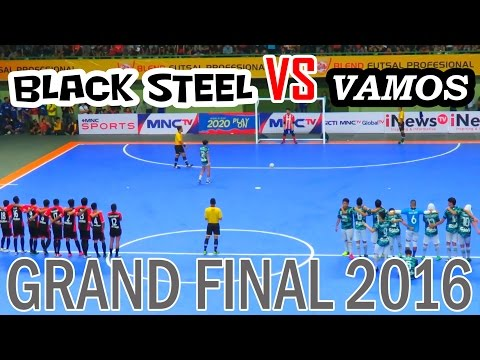Final Futsal Indonesia - Vamos Mataram VS Black Steel (Blend Futsal Profesional 2016)