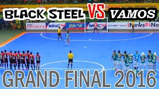 Video Final Futsal Indonesia - Vamos Mataram VS Black Steel (Blend Futsal Profesional 2016) MP3, 3GP, MP4, WEBM, AVI, FLV Februari 2018
