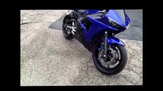 9. New Bike! 2006 Yamaha YZF-R6S Walk Around