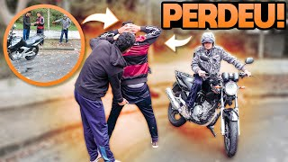FOI VENDER A MOTO PELA OLX E NO ENCONTRO ACABOU SENDO ROUBADO