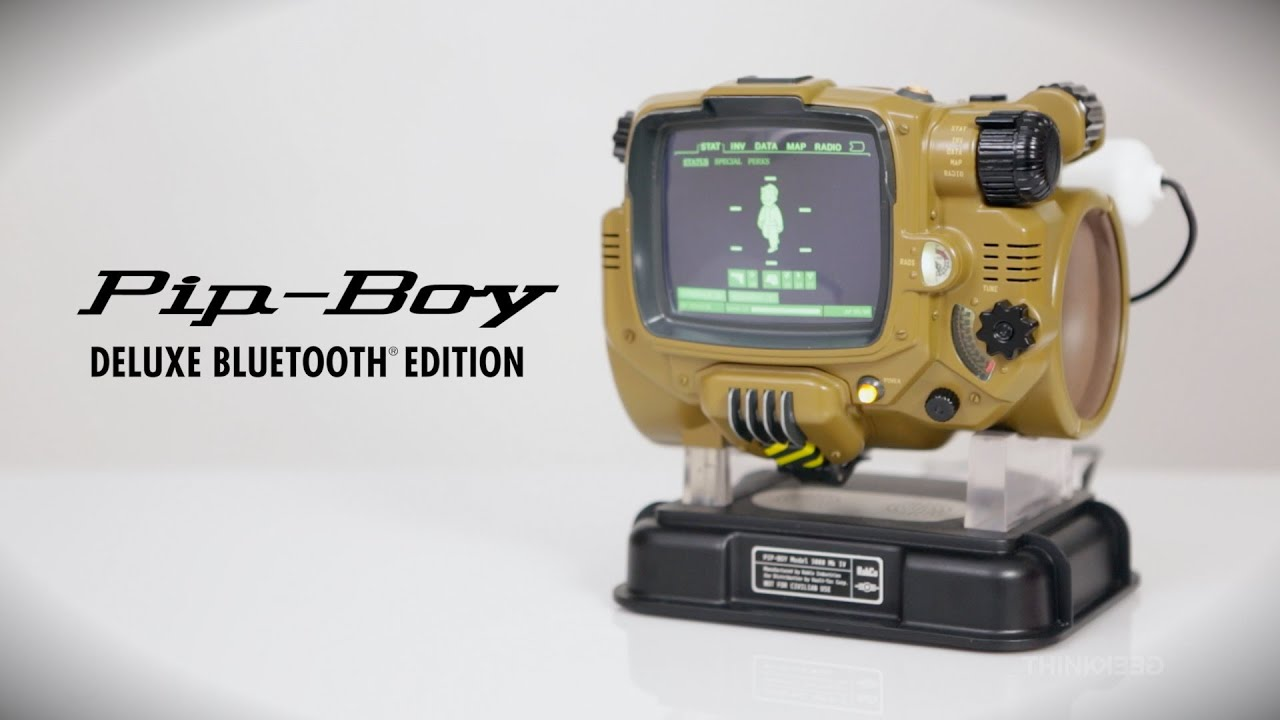 'Fallout 4' Pip-Boy Deluxe Bluetooth Edition is the Real ...