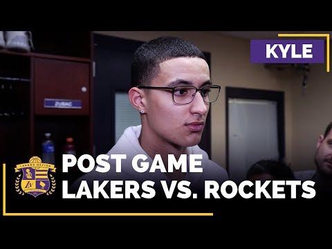 Video: Kyle Kuzma On Houston Rockets, James Harden Matchup, Lakers Confidence