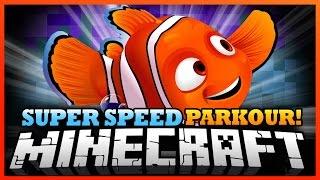 Minecraft   WE FOUND NEMO! - Super Speed Run and Jump Parkour!