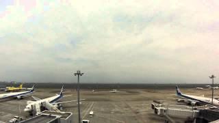 羽田空港 第2ターミナル GoPro微速度撮影(サウンドなし)
