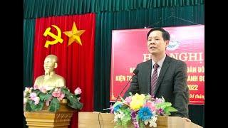 Giới thiệu nhân sự bầu bổ sung, kiện toàn chức danh Bí thư Thành đoàn Uông Bí