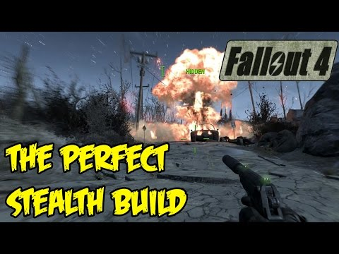 Fallout 4: The Perfect Sneak/Stealth Character Build (Weapons, Armor, & Perks! CHAMELEON ARMOR FTW)