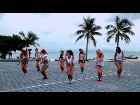 Mavado - Come round  / Dance Dancehall vol.6 / Sexy Koh Phangan girls !