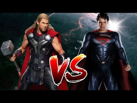 Superman VS Thor | Who Wins?