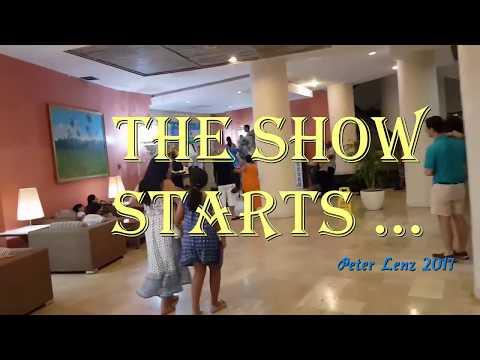 Varadero Hotel Melia 2017 - The show starts