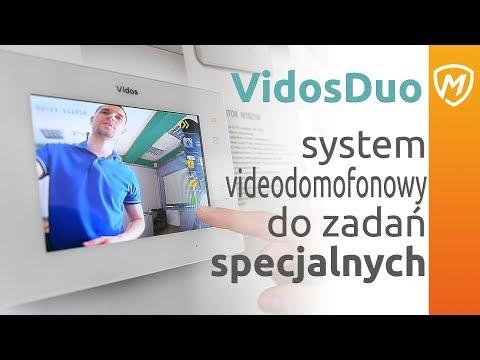 VIDOS DUO - Prosty i dobry dwużyłowy system wideodomofonowy