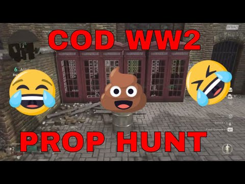 WW2 PROP HUNT FULL MATCH W/ Dooberman and Kayla