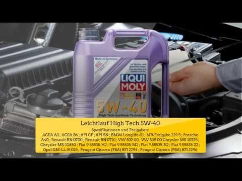 Leichtlauf High Tech 5W-40 Liqui Moly by Motoroel-King