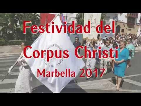 Festividad del Corpus Christi Marbella 2017