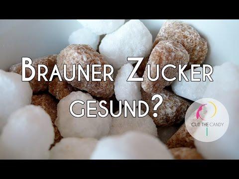 Zucker-Mythos: Brauner Zucker gesünder als weißer Zucker?