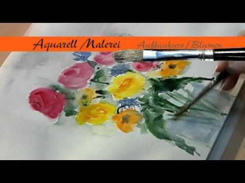 Malen.TV – Aquarellmalerei Blumen
