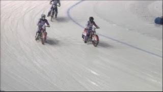 Любимые мотогонки на льду