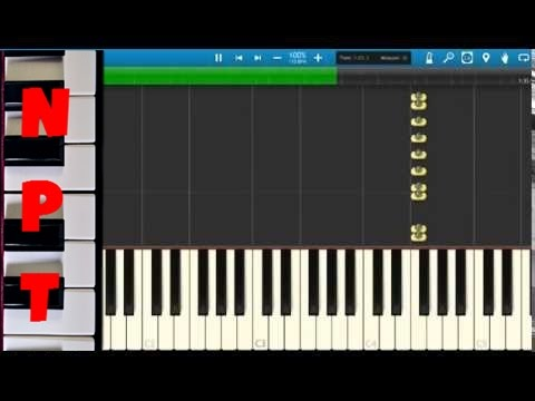 Bruno Mars & Mark Ronson – Uptown Funk – Piano Tutorial – Synthesia – How To Play