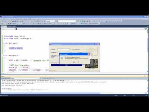 Mikrocontroller - Grundlagen  (Analog-Digital-Umsetzer)