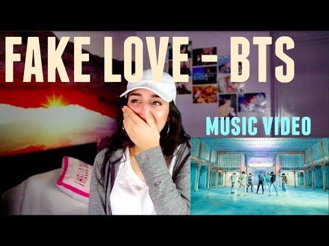 Love messages - BTS (방탄소년단) 'FAKE LOVE' Official MV - REACTION!!!!!