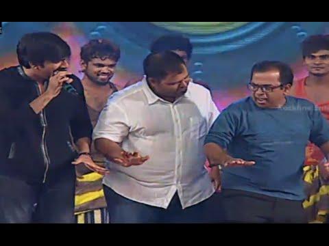 Ravi Teja, Brahmanandam, Hansika & Funny Dance Performance @ Power Movie Audio Launch
