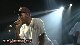Tyler The Creator 'Steak Sauce' *LIVE* - Westwood