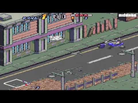 Biker Mice from Mars (SNES) Gameplay (HD)