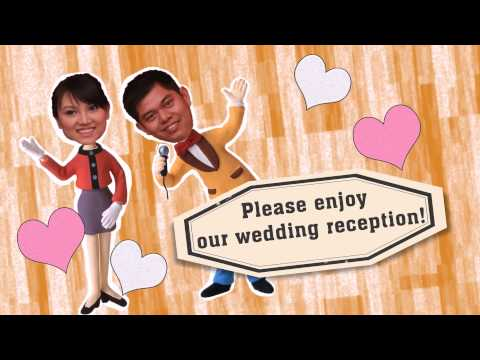 Thach & Phuong Wedding animation movie