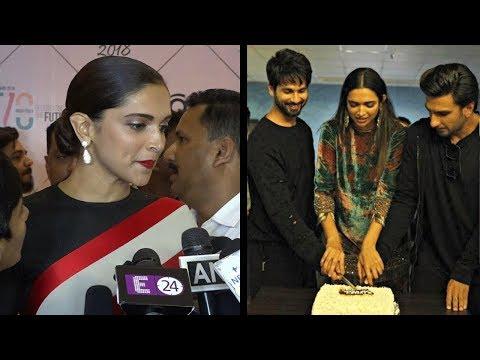 Deepika Padukone CREDITS Ranveer Singh, Shahid Kap
