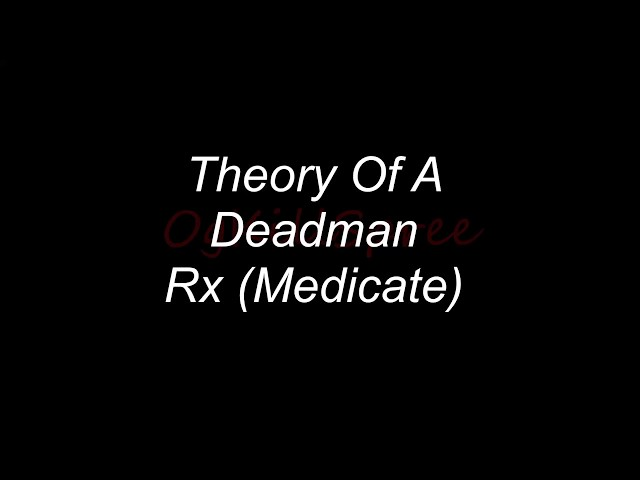 Rx-theory-of-a-deadman