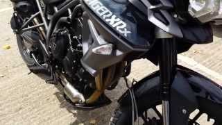 9. Triumph Tiger 800 XRx Phantom Black Specifications