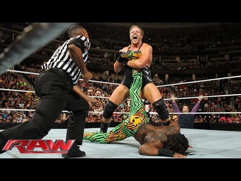 Feb. 17, 2014, Kofi Kingston vs. Jack Swagger: Raw
