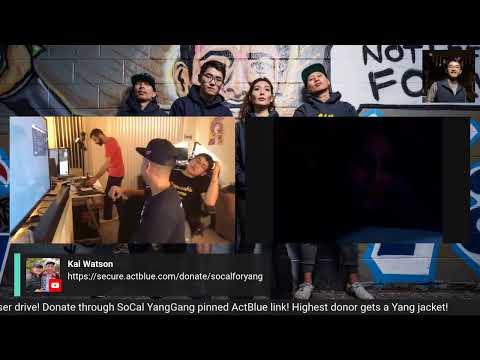 Andrew Yang Fundraising Drive! (LiveStream)