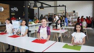 Pequeños `starchefs' se miden en un concurso gastronómico de altura