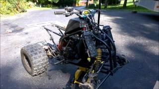 9. Let the sketchyness begin!: Yamaha blaster Yz250 engine swap