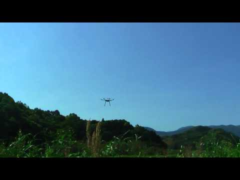 DJI S800 フライト