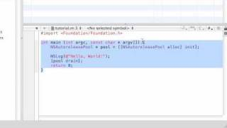 Objective C Programming Tutorial - 2 - Explaining The Program
