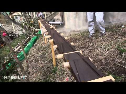 神戸・妙法寺小学校に特製木琴が完成