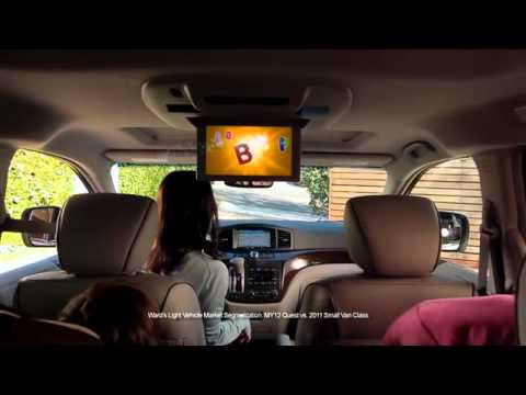 Nissan Commercial for Nissan Quest (2012) (Television Commercial)