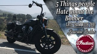 9. 5 things people hate about the Indian Scout Bobber