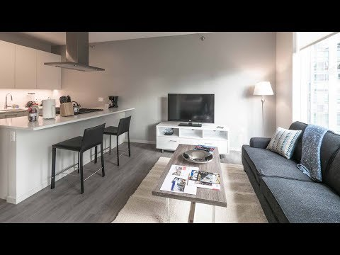 A furnished short-term convertible in River North at 8 East Huron