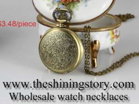 How to buy wholesale watch pendant necklace online