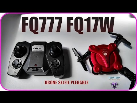 FQ777 FQ17W Drone Foldable+ Fpv Selfie DroneTomtop Ltecnic
