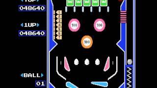 NES Longplay [456] Pinball