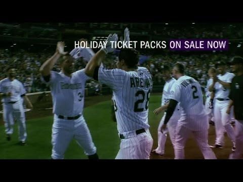 Video: Give the gift of summer with a Rockies Holiday Pack!