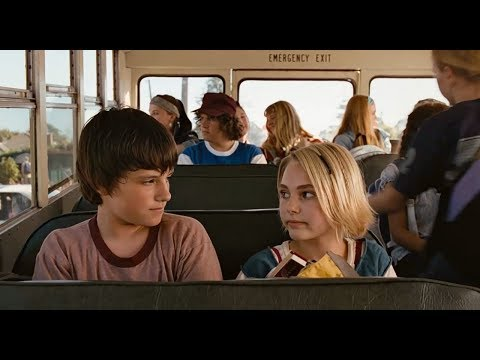 [Bridge To Terabithia] Jess helps Leslie on the bus