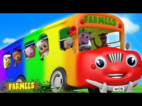Wheels on the Bus & More Nursery Rhymes | Kids Cartoon Videos
